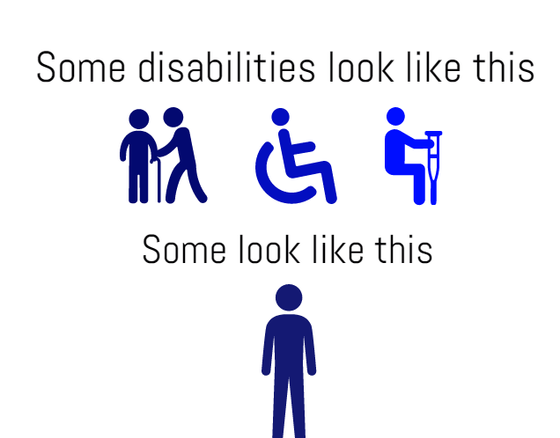 Blue Badges for hidden disabilities - The facts