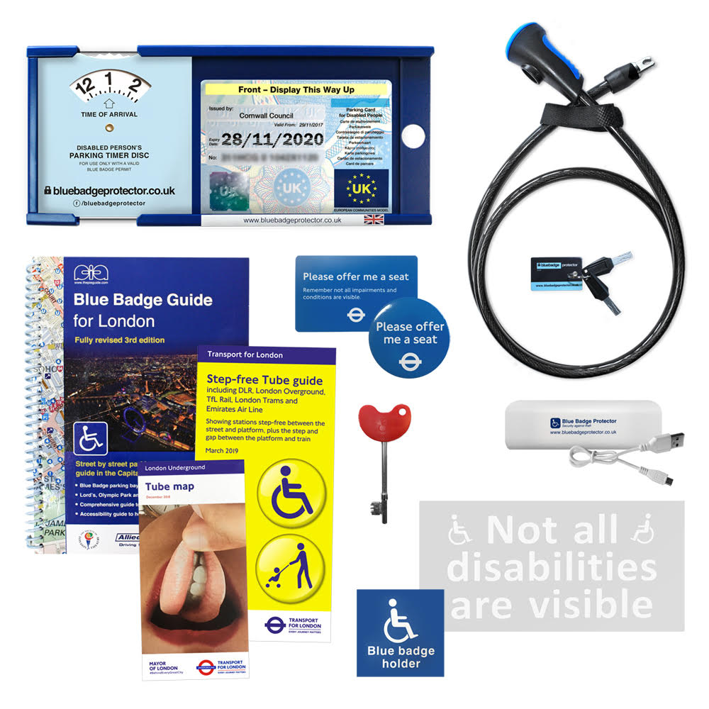 NEW PRODUCT LAUNCH - London Blue Badge Bundle