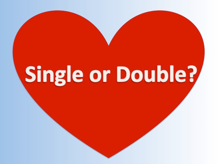 SINGLE or DOUBLE this Valentine's day? This offer's for you!
