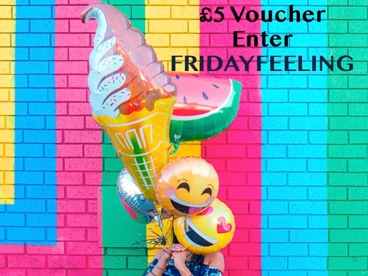 That Friday Feeling! £5 voucher!