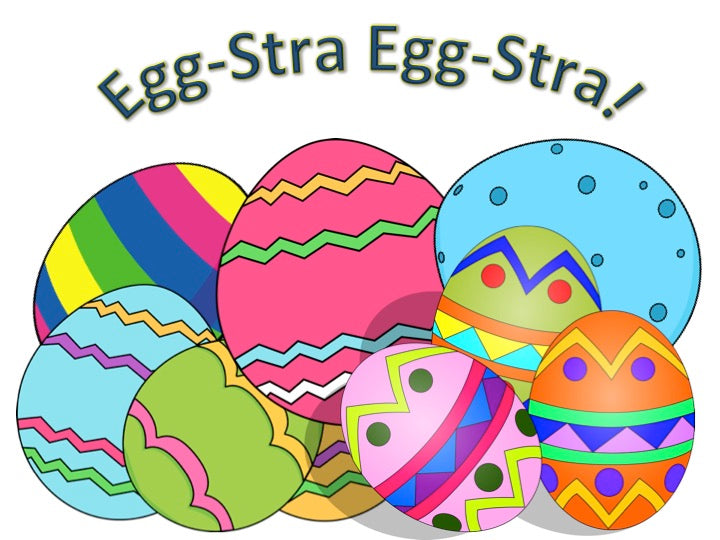 An Egg-stra bit of fun this Easter!