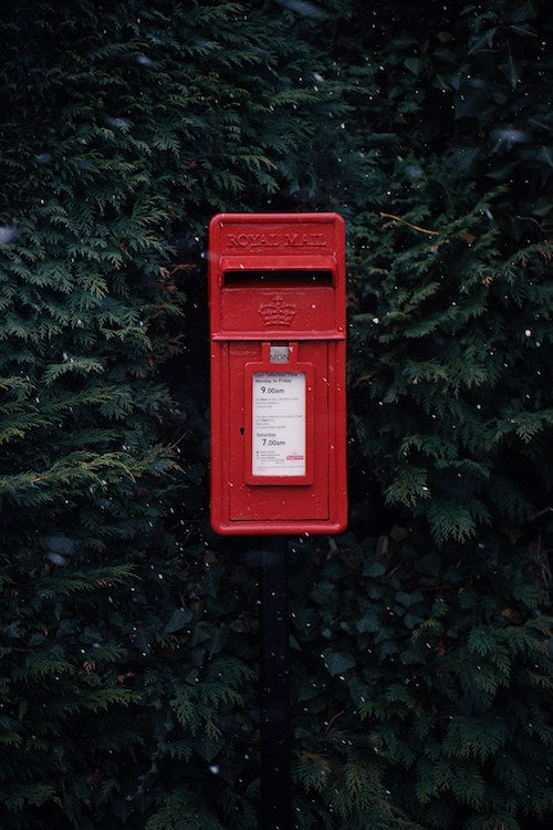 When are Royal Mail last post dates?