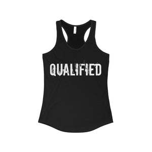 QUALIFIED Racerback Tank
