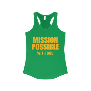 Mission Possible Racerback Tank