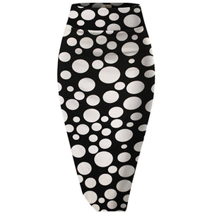 Networking Nina Polka Dot Pencil Skirt