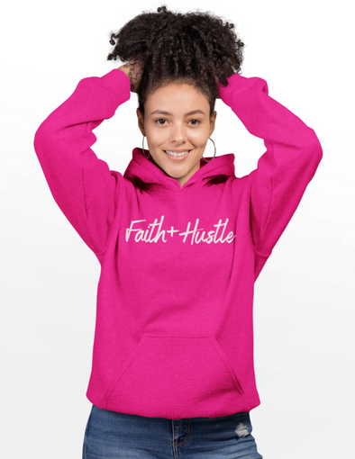 Faith + Hustle Hoodie (3 colors)