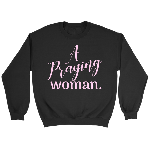A Praying Woman Crewneck Sweatshirt