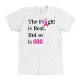 The Fight is Real BREAST CANCER black