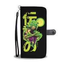 """The Legendary Saiyan"" Wallet Phone Case"