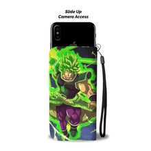 """The Legendary Saiyan"" Wallet Phone Case (Full)"