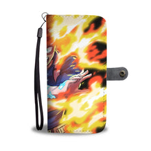"""Half-Cold, Half-Hot"" Wallet Phone Case (Full)"