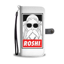 """Roshi"" Wallet Phone Case (white)"