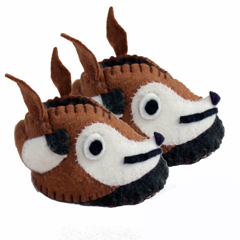 Fox Zooties Baby Booties - Silk Road Bazaar