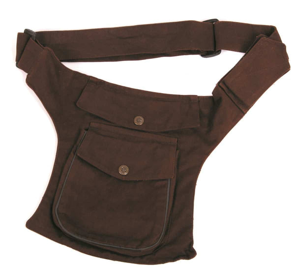 Cotton Belt Bag w/ Pocket