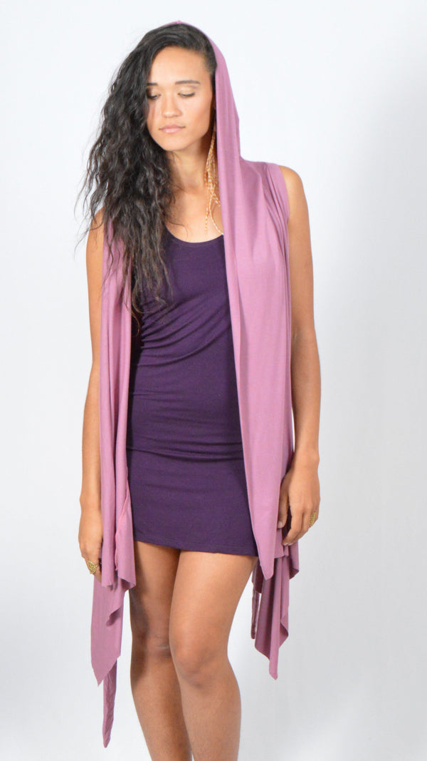 Jedi Wrap Dress with Hood