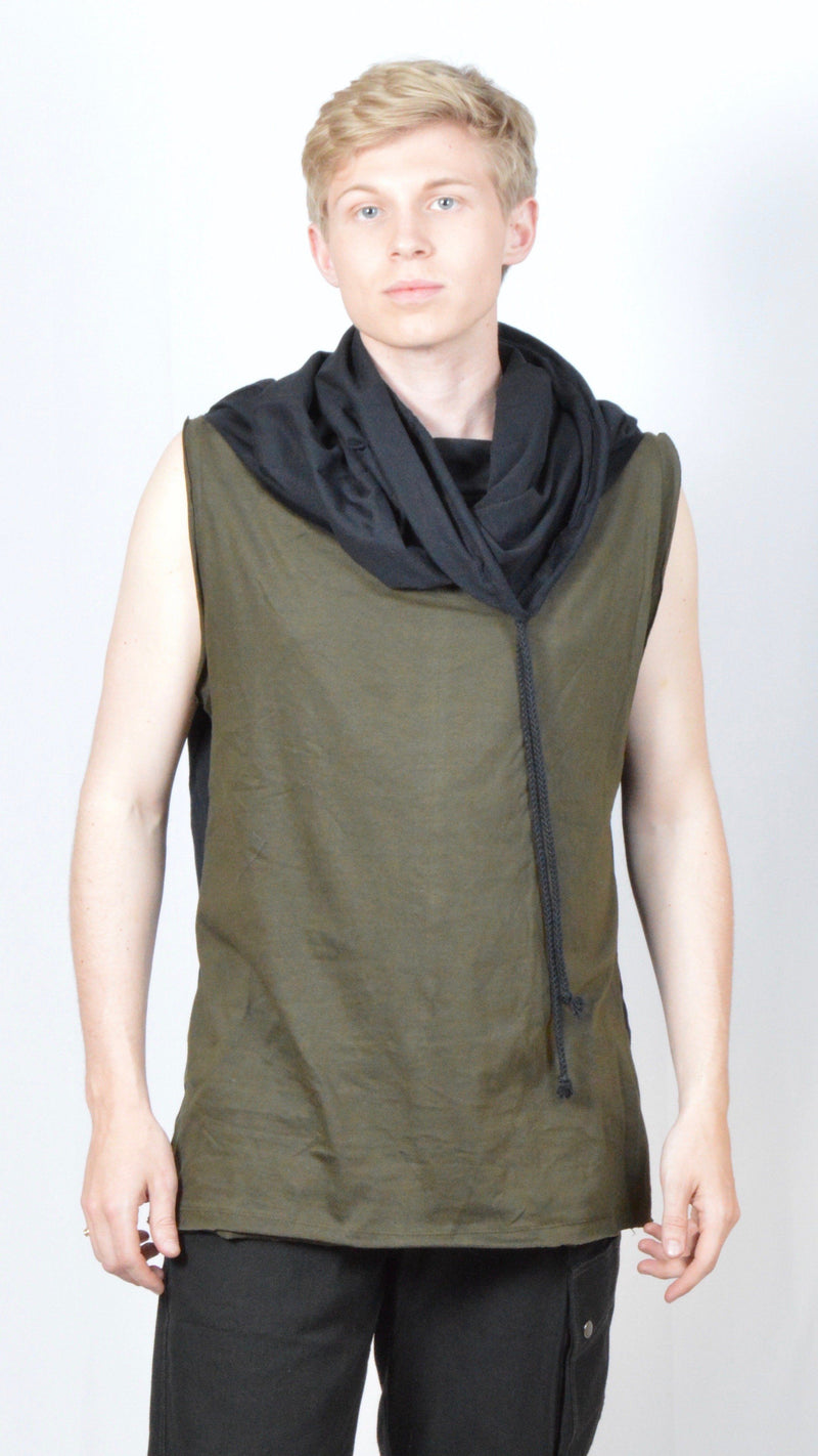 Cowl Neck Sleeveless Tank