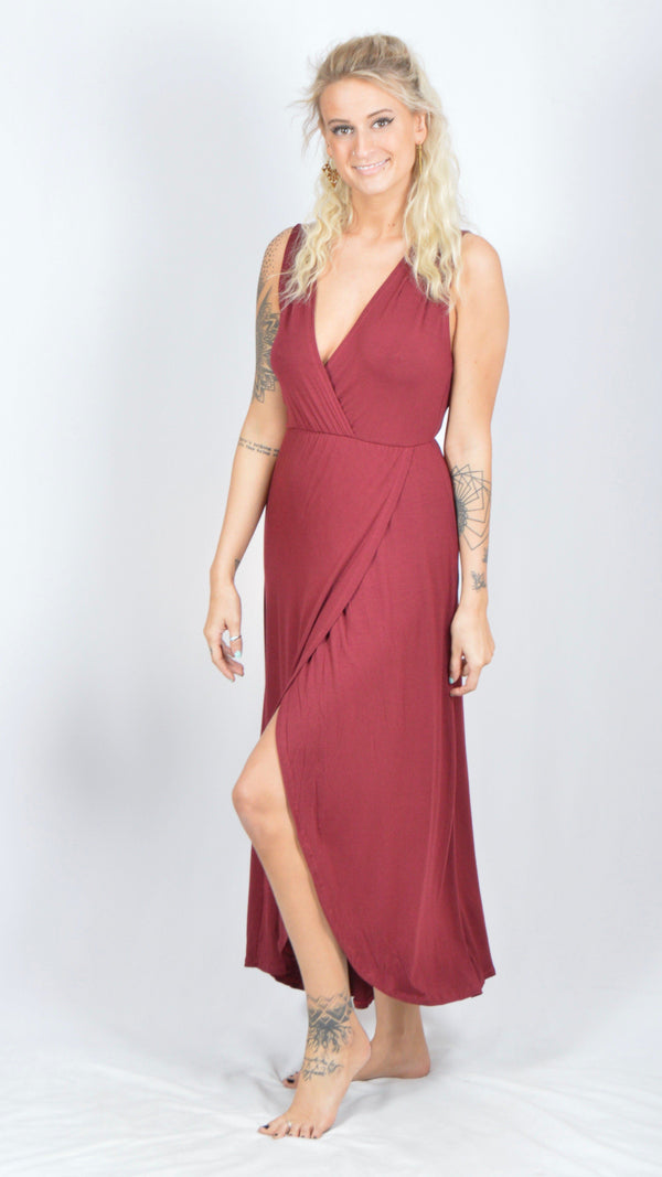 Slit Long Dress