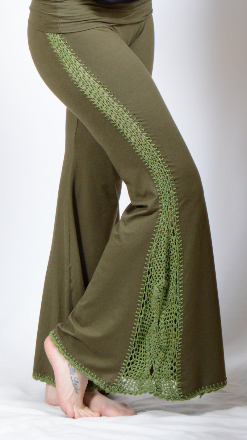 SIDE CROCHET PANTS