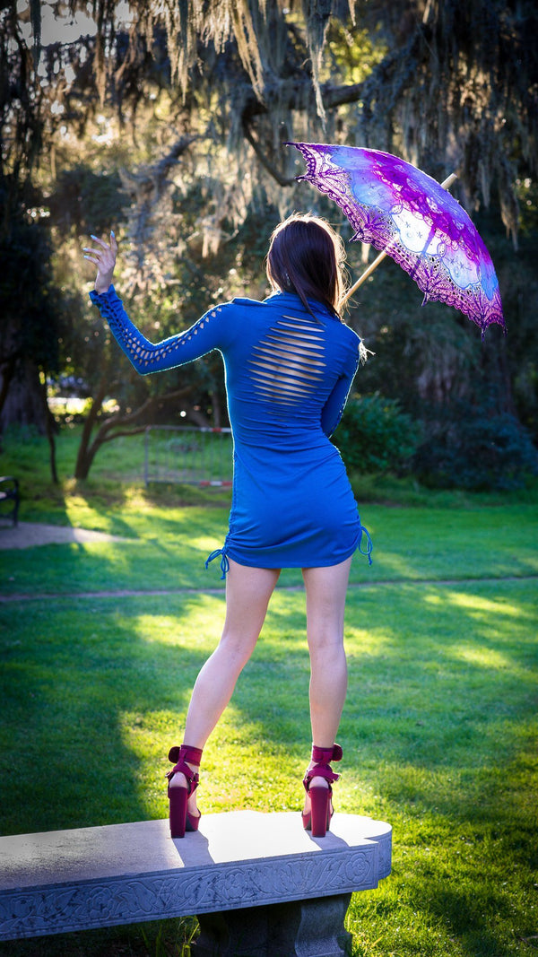 Snip Tease Bamboo Long Sleeve Huntress Dress