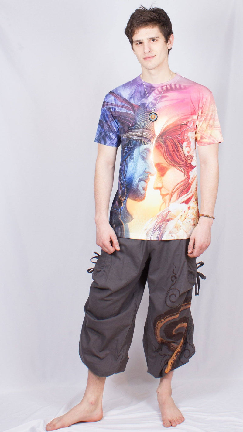 Spiral Cinch Pants