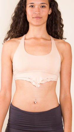 Lace Up Racerback Crop