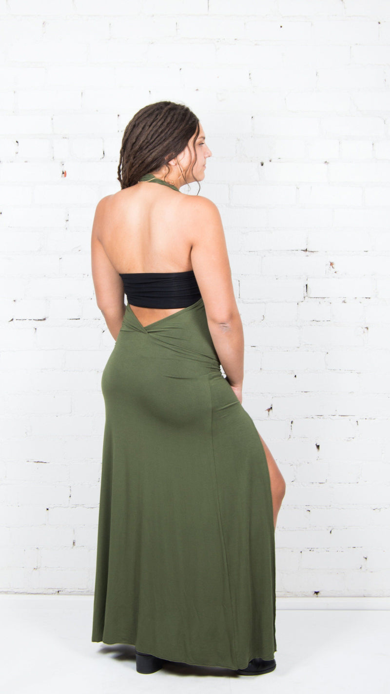 Lumos Side Slit Dress