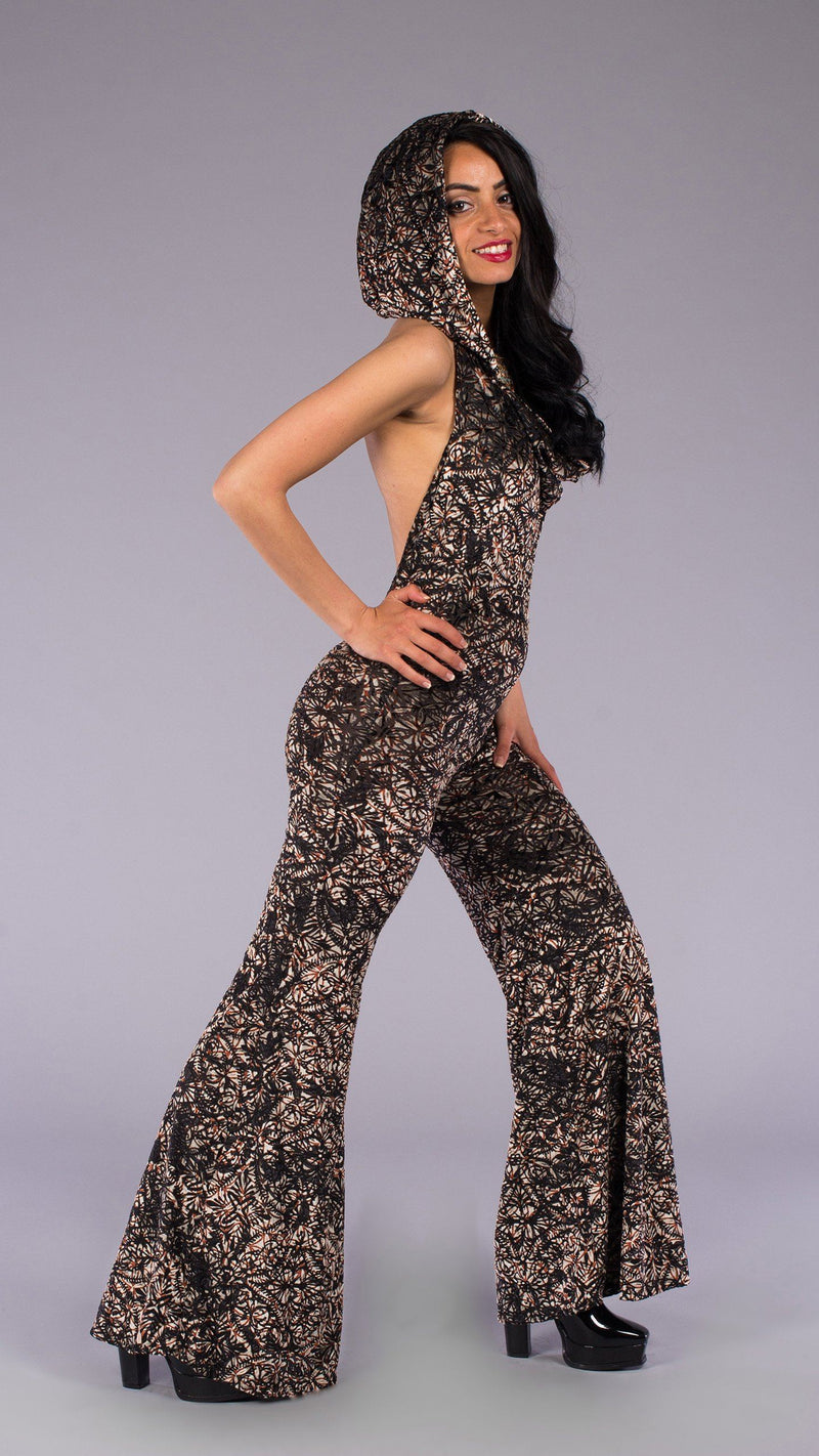 Metallic Lotus Burnout Mystique Onesie