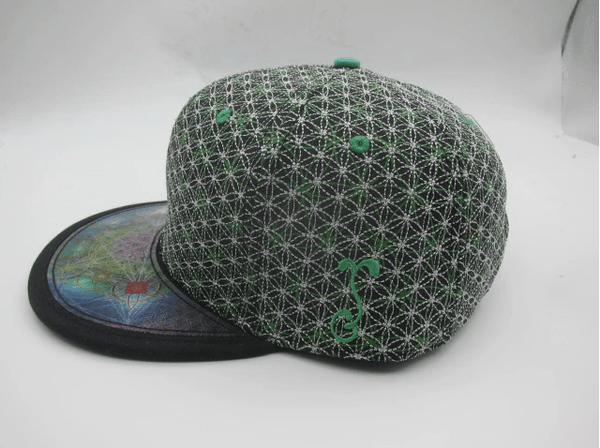 Flower of Life Hologram Snapback