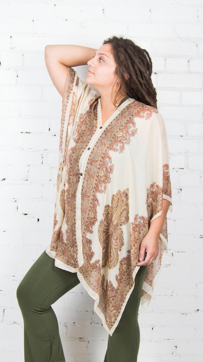 Sheer Shawl - Wear 14 Ways