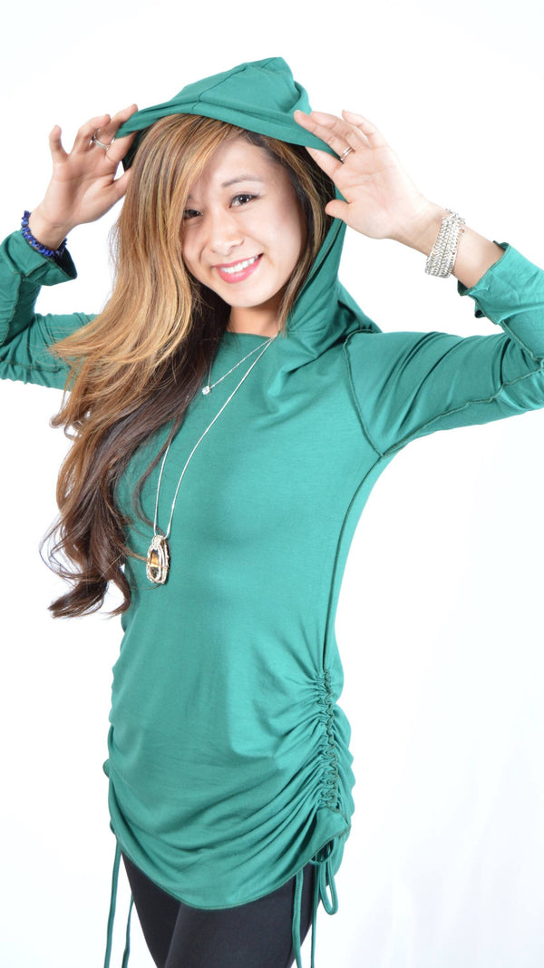 Hooded Tunic Long Sleeve