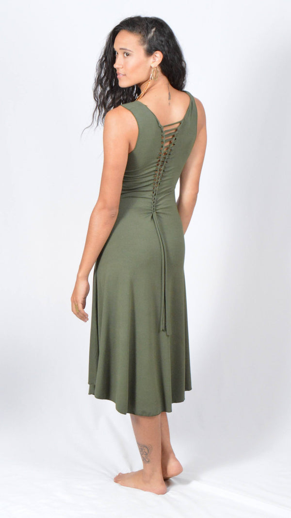 Ladderback Long Dress