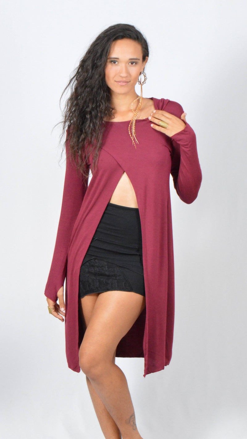Hooded Cape Dress