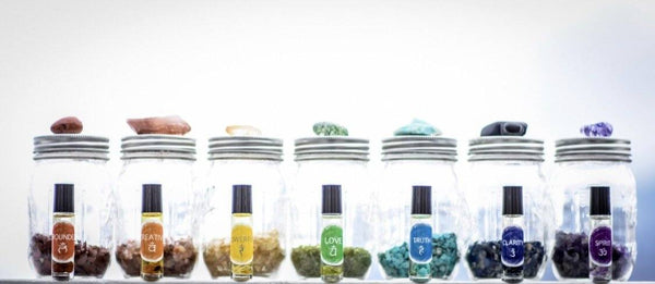 Full Chakra Oil Blend Set