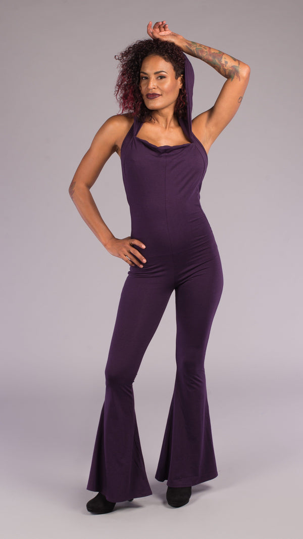 Purple Bamboo Mystique Slim Bell Onesie