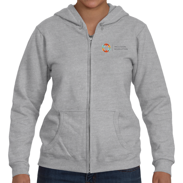 Women's Inclusion Revolution Full Zip Hooded Sweat Shirt