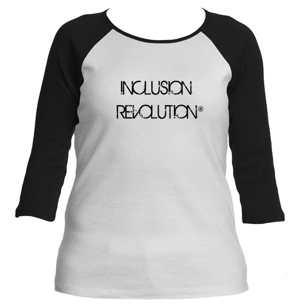 Women's Inclusion Revolution Baseball Tee