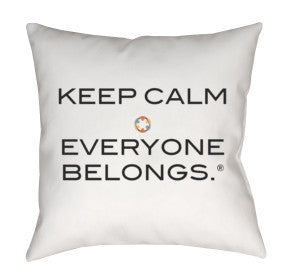 Inclusion Revolution Throw Pillow