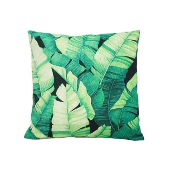 Banana Leaf Cushion - Clkspace