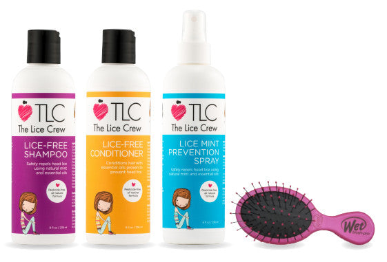 TLC Head Lice Prevention Kit