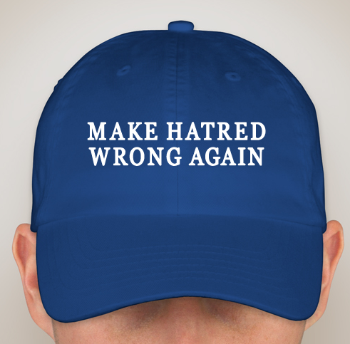 MAKE HATRED WRONG AGAIN Official Baseball Cap NOW IN STOCK!!