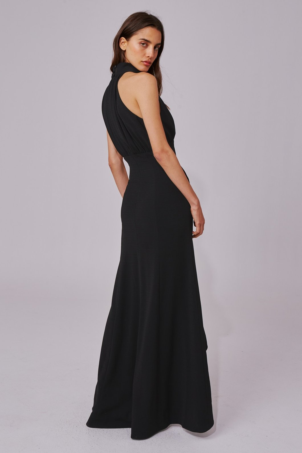 C/Meo Collective Ask Anything Gown Black