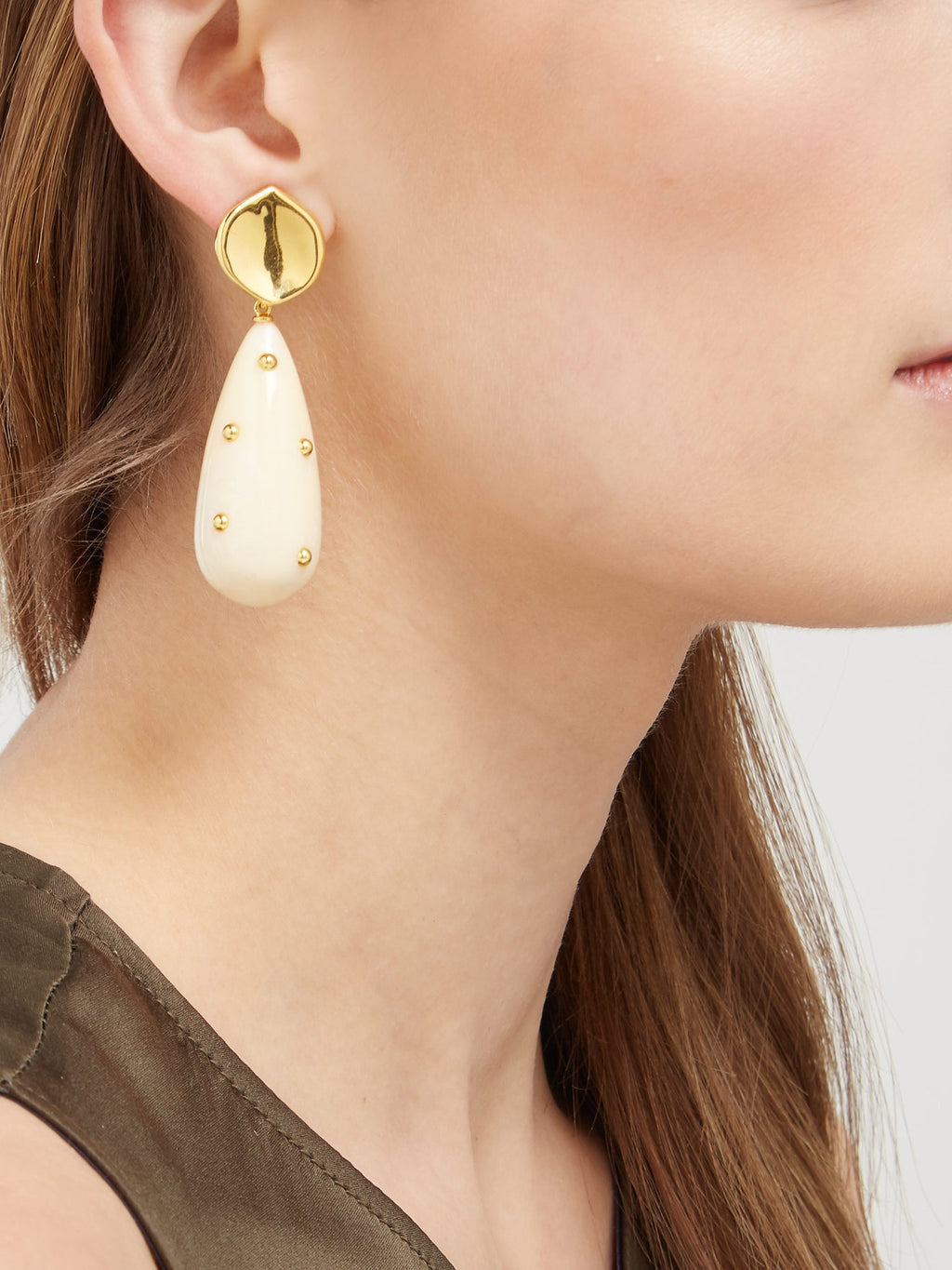Lizzie Fortunato Prism Gold Drop Earrings