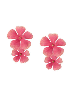 Jennifer Behr Faye Earrings Pink