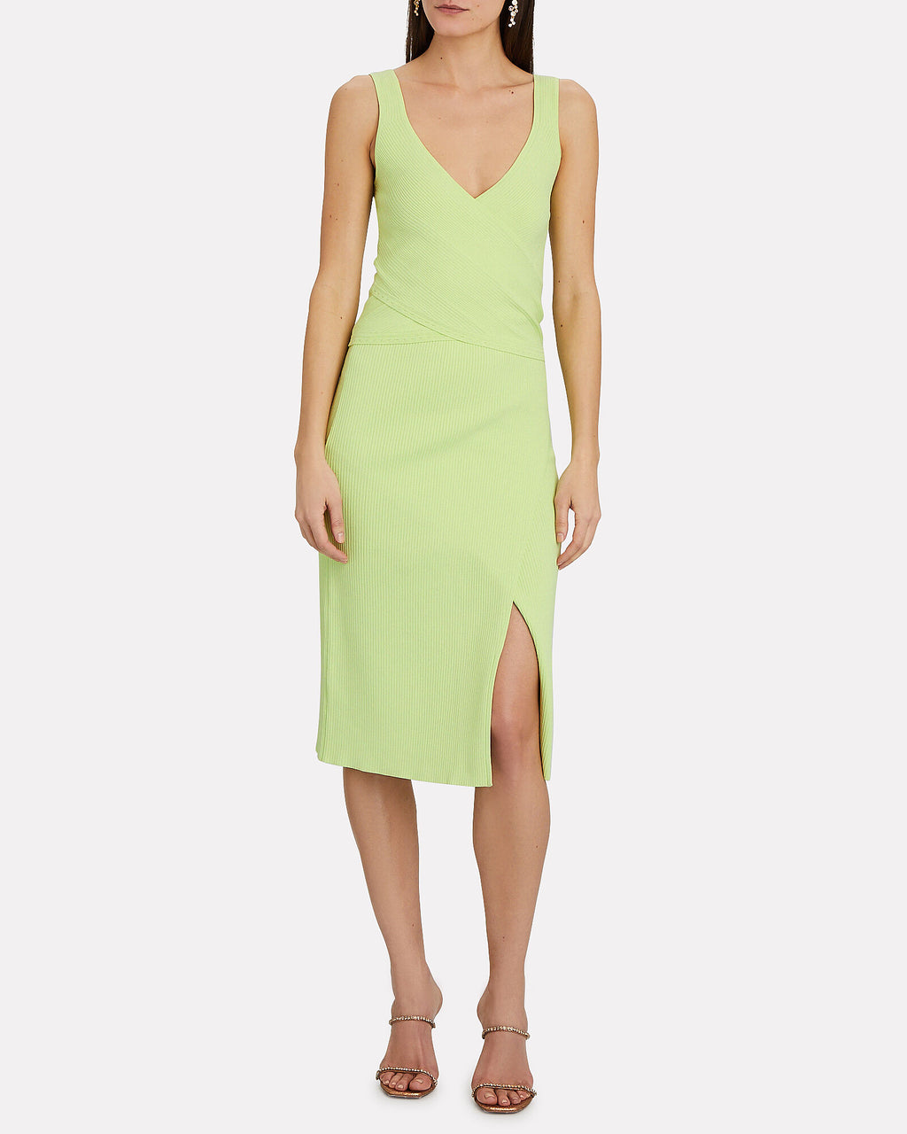Jonathan Simkhai Jolene Skirt and Top Jada Set Pear