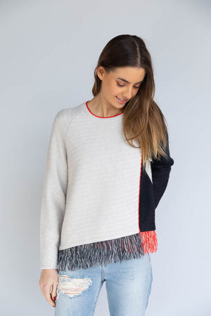 Jonathan Simkhai Overlapping Wrap Sweater