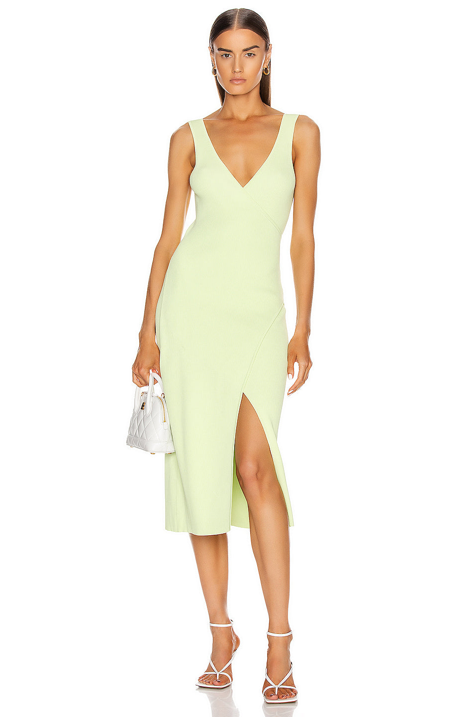 Jonathan Simkhai Milani Knit Basic Dress
