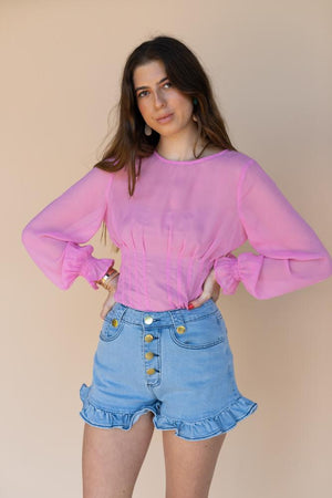 Finders Bella Pink Top