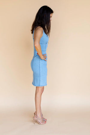 Finders Claudia Denim Dress