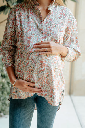 Matrioska Floral Button Down