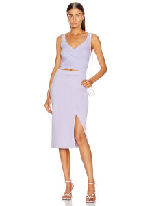 Jonathan Simkhai Jolene Skirt And  Top Jada Set